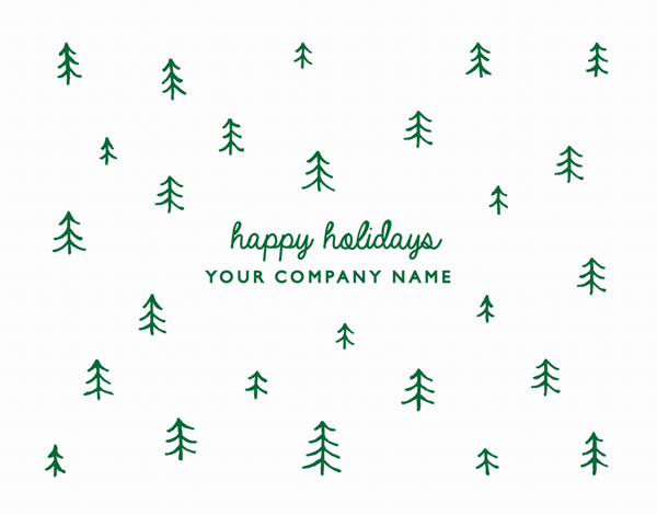 Doodle Trees Company Holiday Card