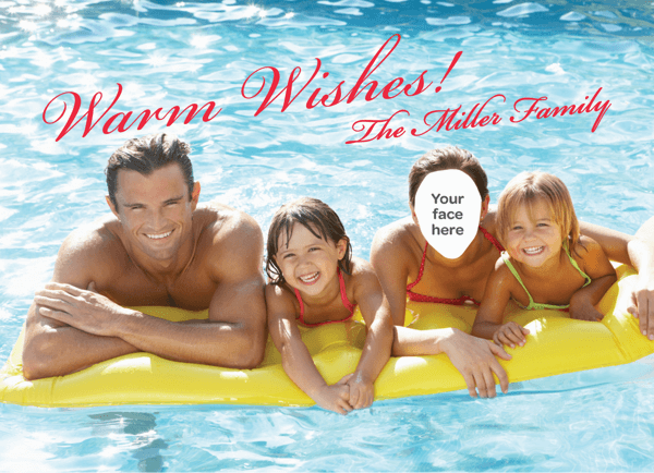 Singles Warm Wishes Holiday Card