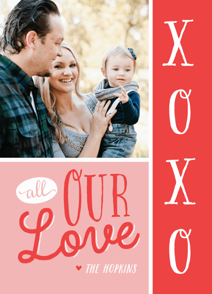 All Our Love Valentine Card