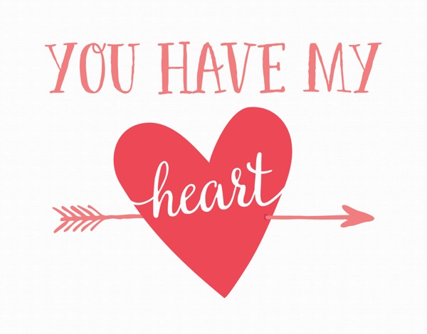 You Have My Heart Valentine Card