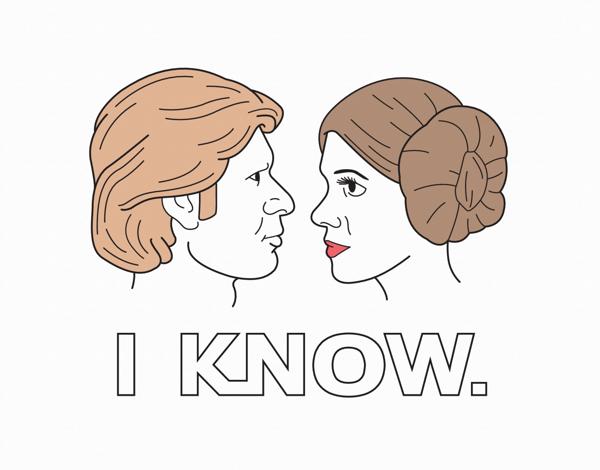 Star Wars Love Card