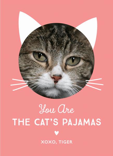 Cat's Pajamas Love Card