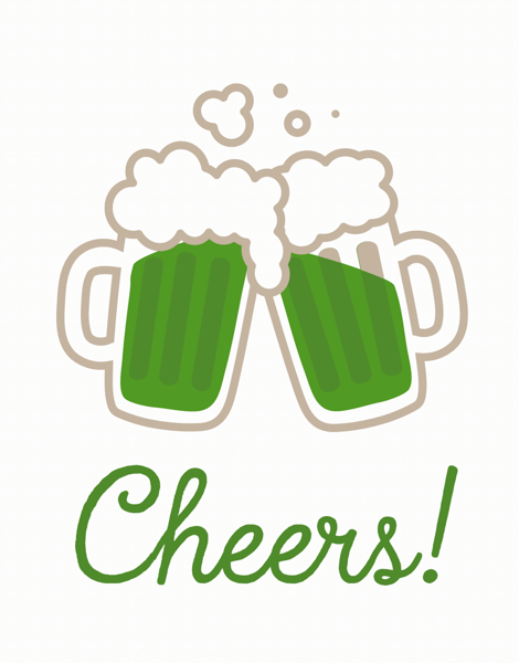 Green Beer St. Patty's Day  Card