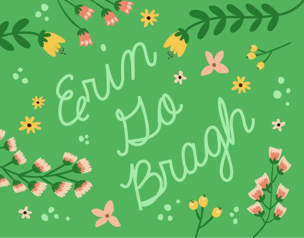 Erin Go Bragh Card