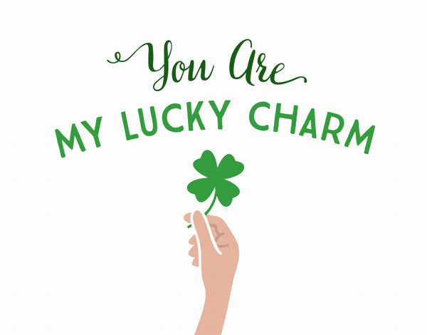 My Lucky Charm St. Patty's Day Card