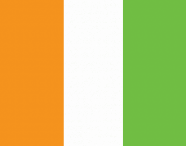 Irish Flag Card