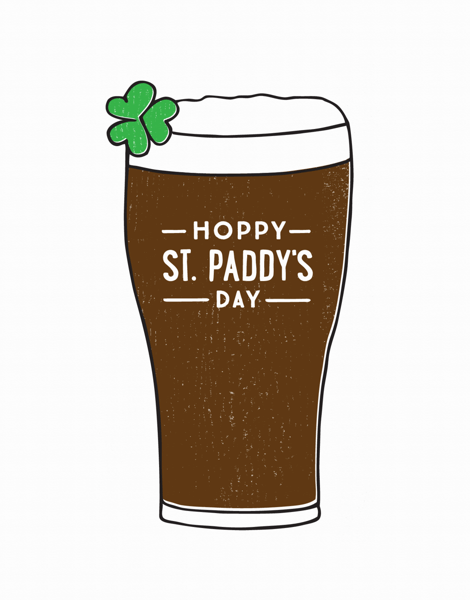 Hoppy St. Paddy's Day Card