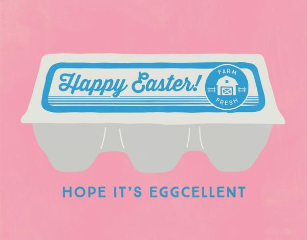 Eggcellent Easter Card