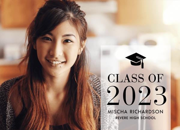 Simple Custom Graduation Announcement
