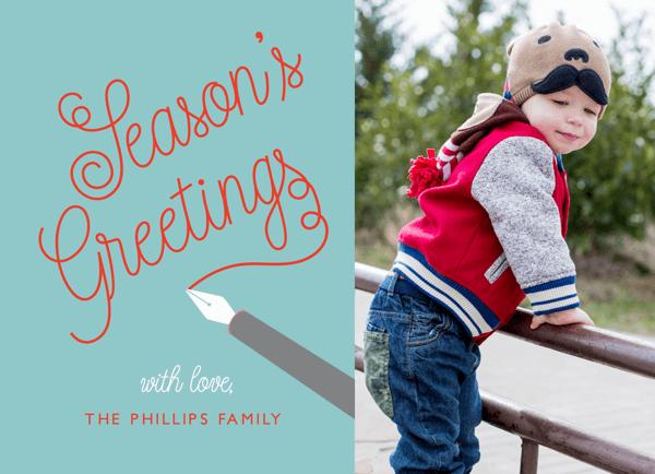 Quill Seasons Greetings