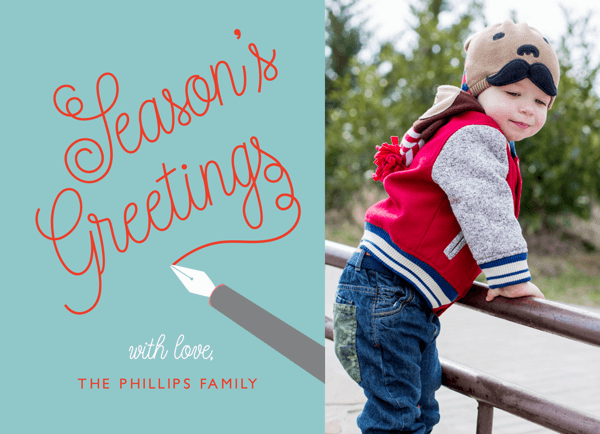 Quill Seasons Greetings