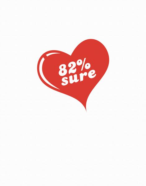 Red Sarcastic Valentine Card