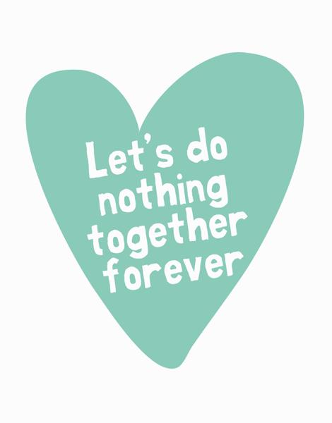 Do Nothing  Aqua Valentine's Note