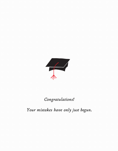 Congrats Mistakes
