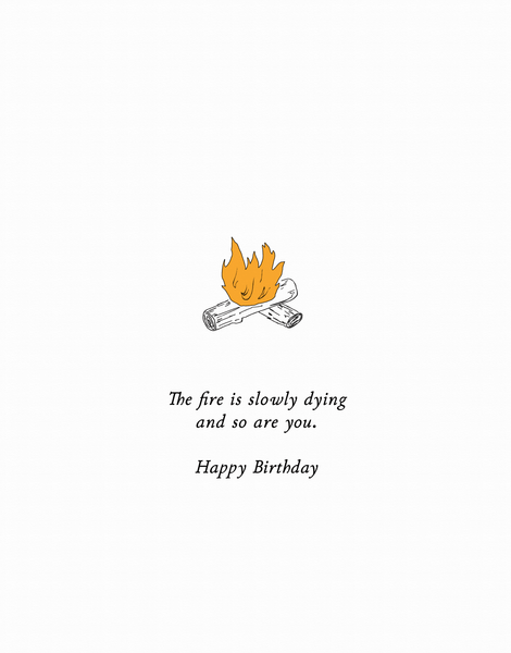 Dying Birthday