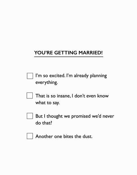 Marriage Multiple Choice