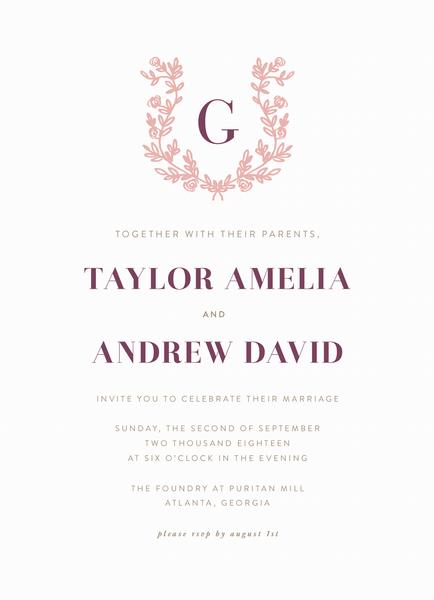 Lovely Invite