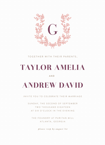 Lovely Invite