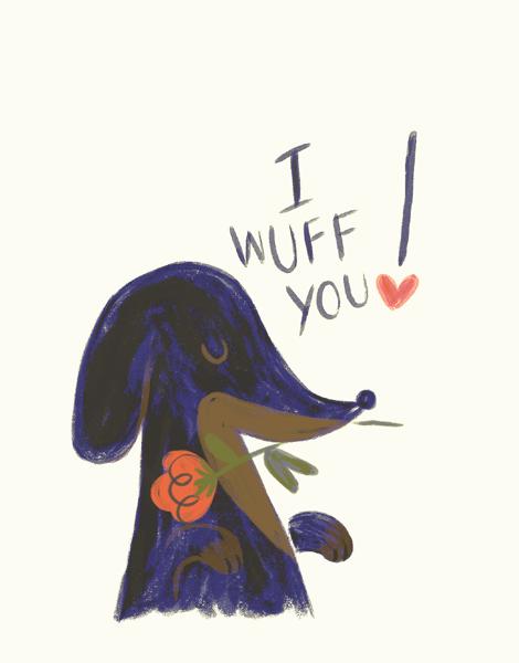 I Wuff You