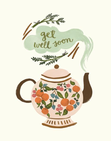Get Well Teapot