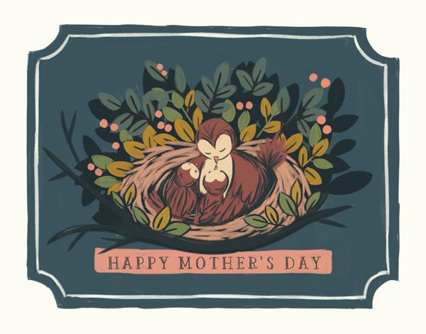 Mom Bird