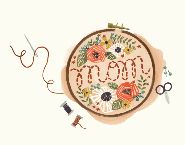 Mom Embroidery