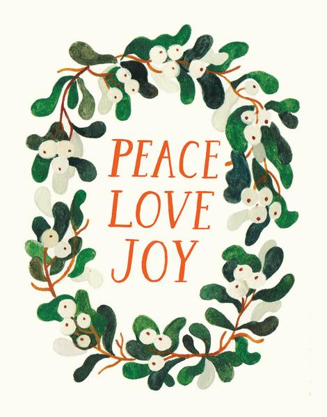 Peace Love Joy