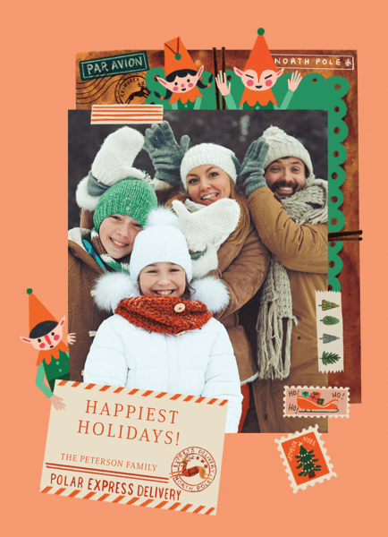 unique-holiday-photo-card