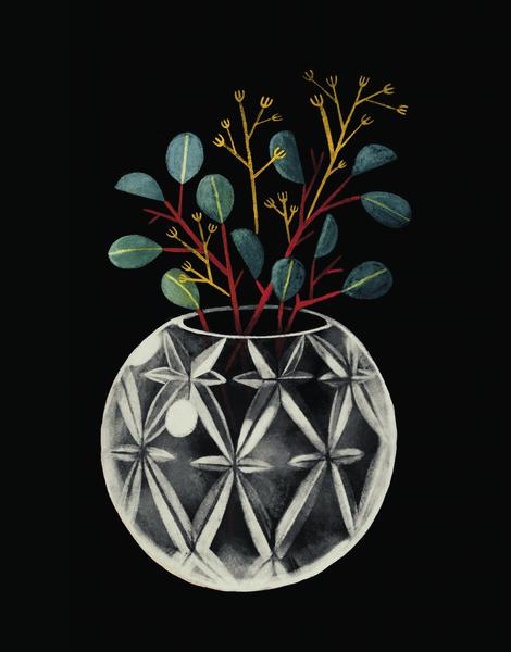 Cutglass Vase
