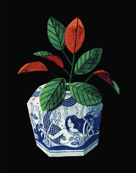 Mermaid Vase