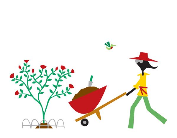 Chic Gardener Everyday Card