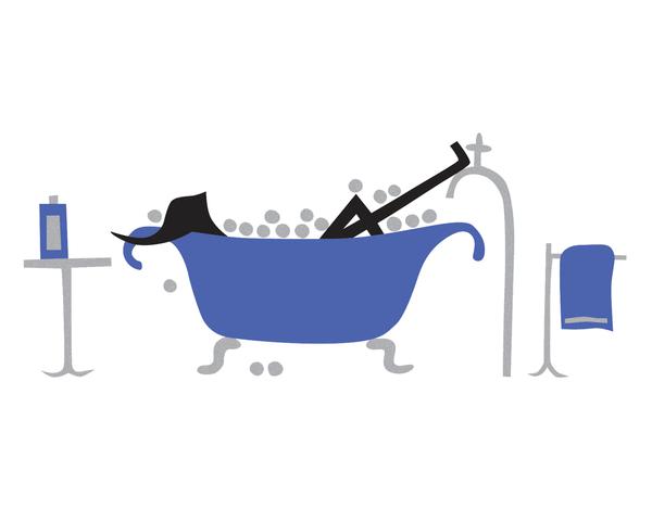 Bathtub Relaxation Stationery
