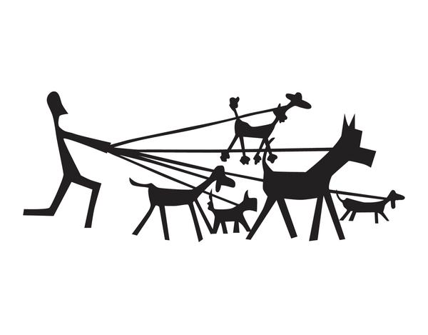 Dog Walker Stationery