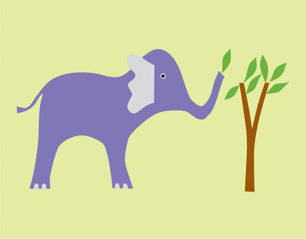 Children's Elephant Stationery