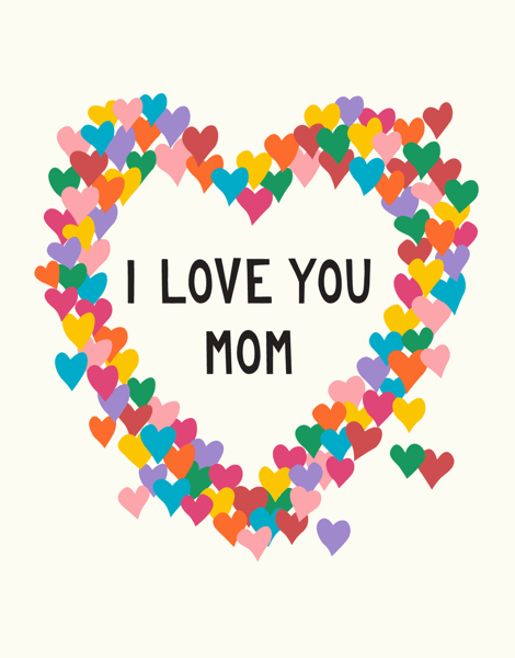 Mother's Day Hearts
