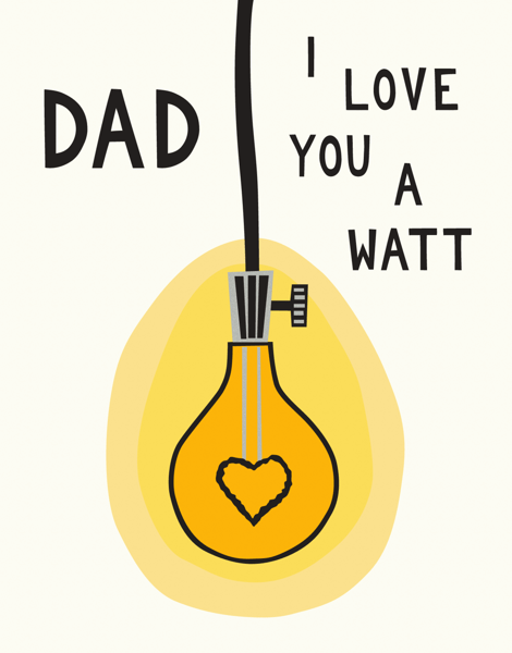 Dad Light Bulb