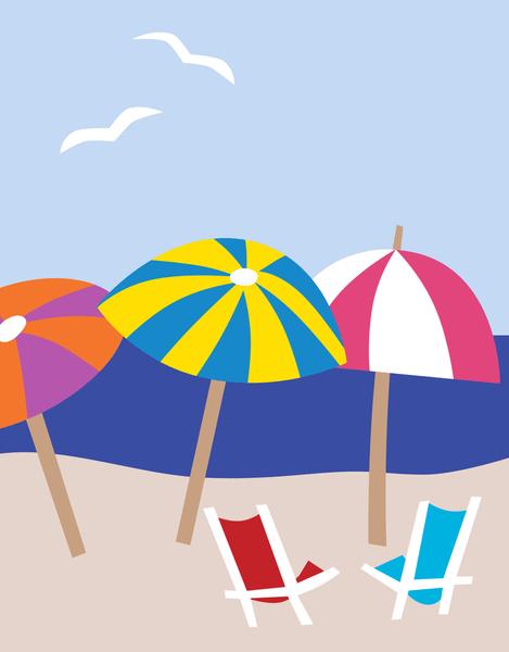 Beach Umbrellas