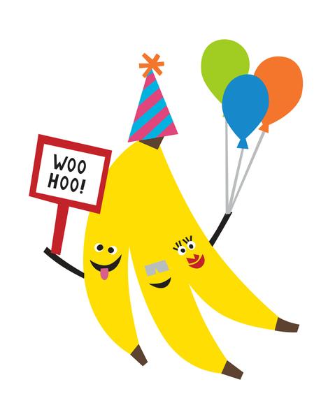 Birthday Bananas