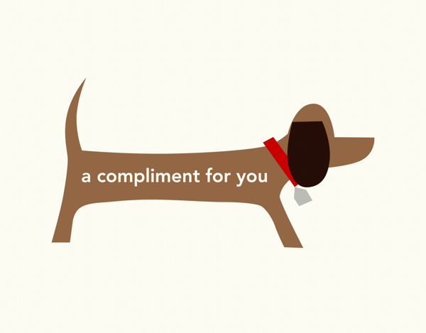 Doggie Compliment