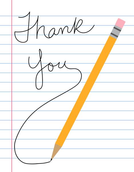 Thank You Pencil