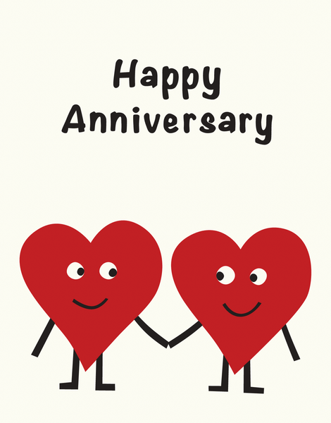 Anniversary Hearts