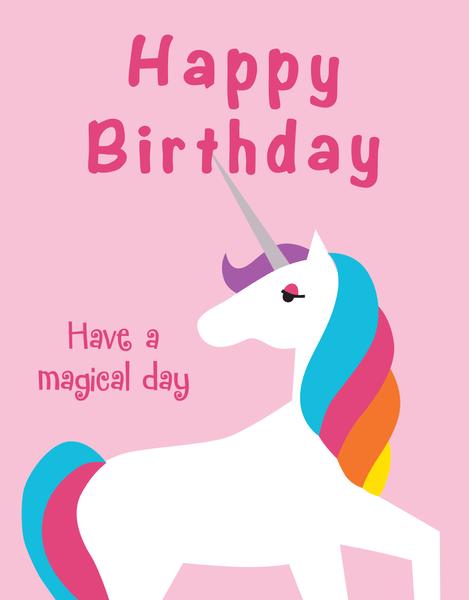 Birthday Unicorn