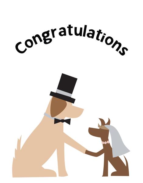 Doggie Wedding