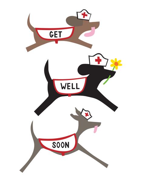 Get Well Doggies