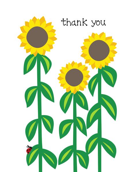 Thank You Sunflower