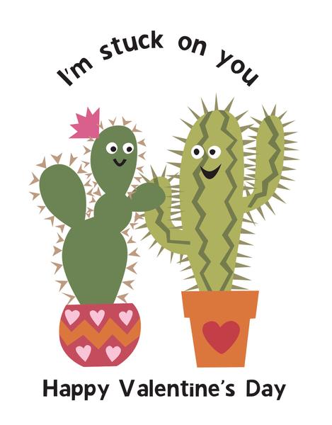 Valentine Cacti