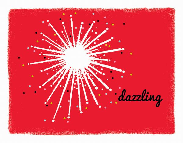 Dazzling Star Stationery