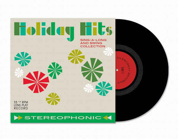 Vinyl Holiday Greeting Card