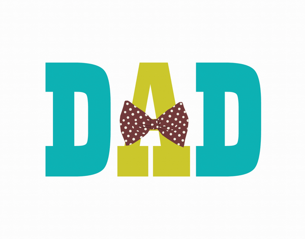 Bow Tie Dad Father's Day  Card