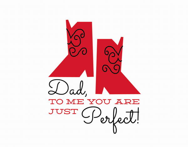 Red Cowboy Boots Father's Day Card
